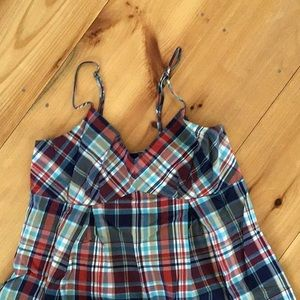 Nautica plaid dress